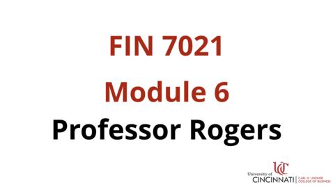 Thumbnail for entry FIN7021 Module 6