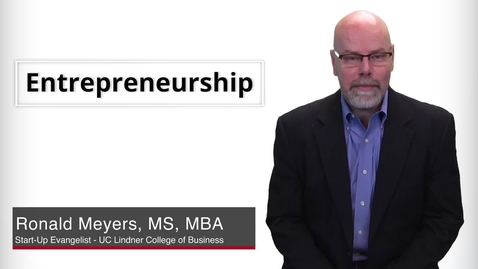 Thumbnail for entry Program Presentations - Entrepreneurship