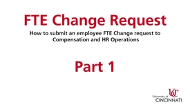Thumbnail for entry FTE Change Part 1