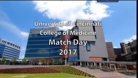 Thumbnail for entry Match Day 2017