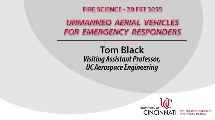 Thumbnail for channel UAV's For Emergency Responders