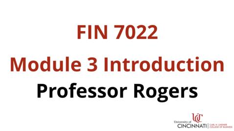 Thumbnail for entry FIN7022 Module 3