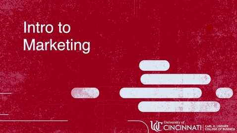 Thumbnail for entry MKTG2080 Overview of Marketing