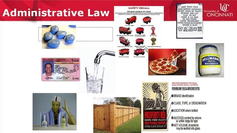 Thumbnail for entry Administrative Law Research: Administrative Decisions -- by Susan M Boland