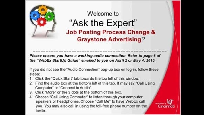 GrayStone Advertising: SuccessFactors Ask the-Expert