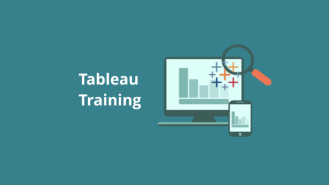 Thumbnail for entry Tour of Tableau