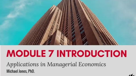 Thumbnail for entry Module 7 Introduction