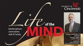 Thumbnail for entry Life of the Mind, September 29, 2015
