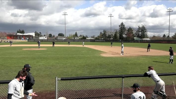 03-29-21 - Storm Men's Baseball  vs Clackamas