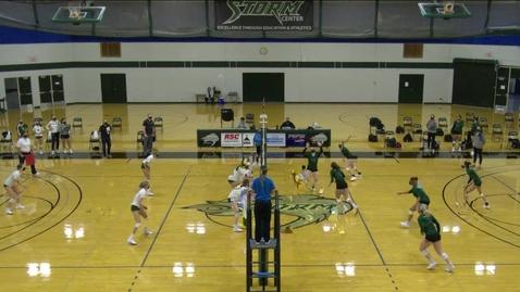 Thumbnail for entry 04-23-21 - Women's Volleyball vs Umpqua