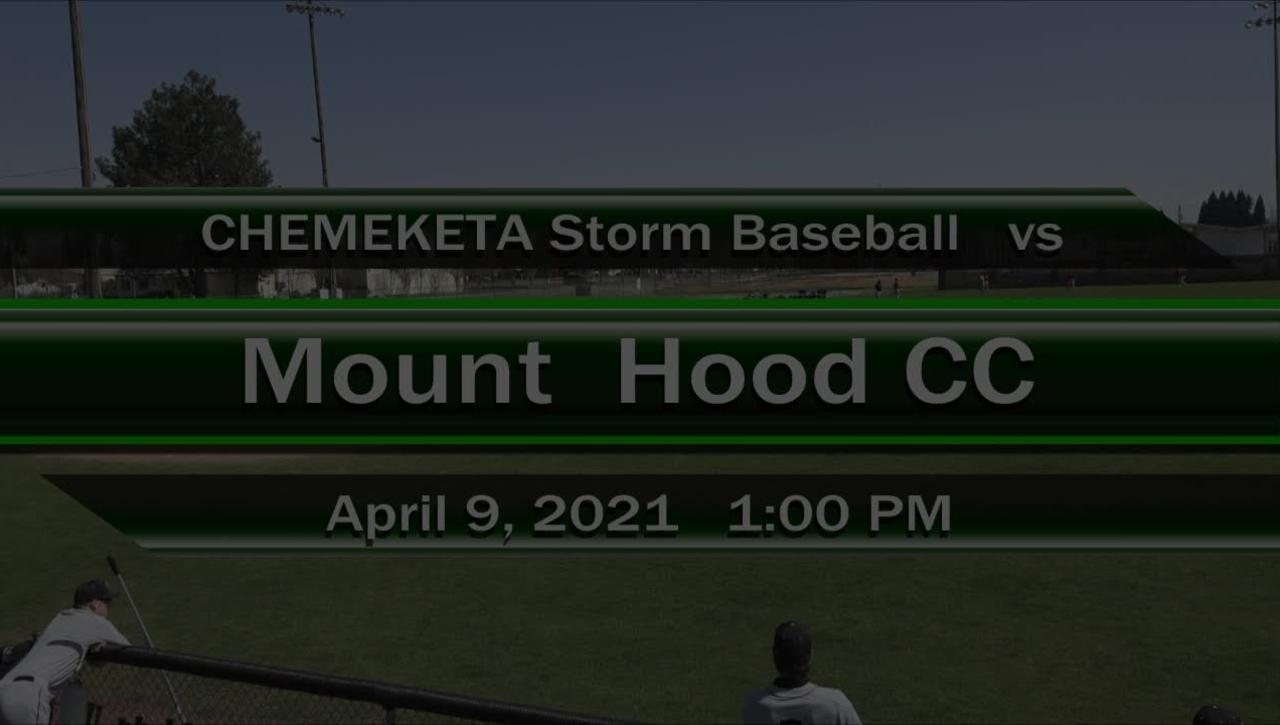 04-09-21 - Men's Baseball vs Mt Hood