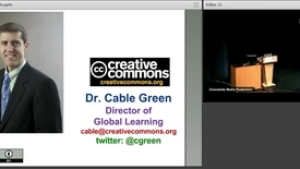 Thumbnail for entry Dr. Cable Green - OER Keynote