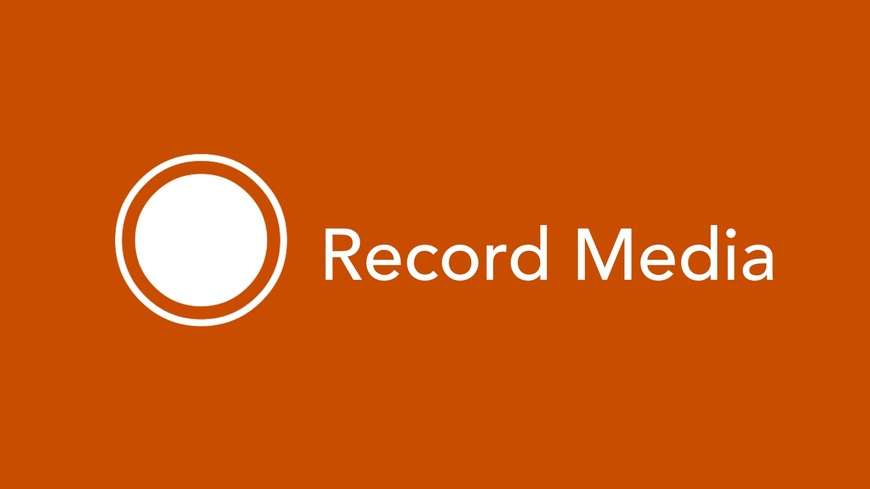 Record Media with Kaltura Personal Capture software