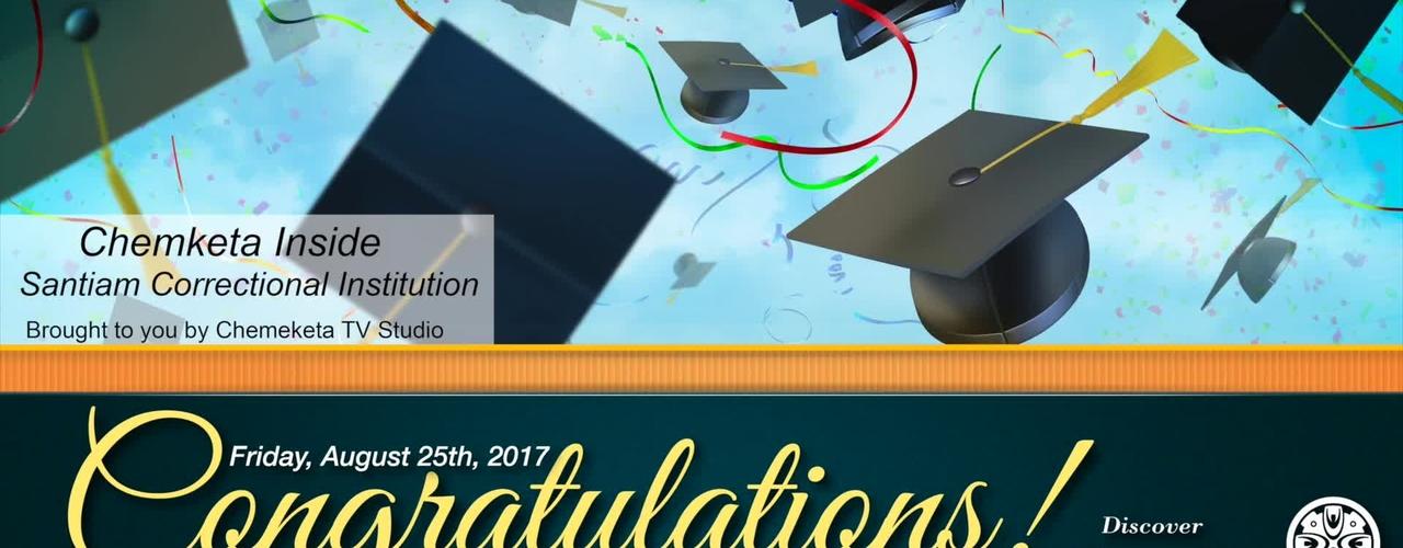 2017 Graduation Santiam Correctional Institution