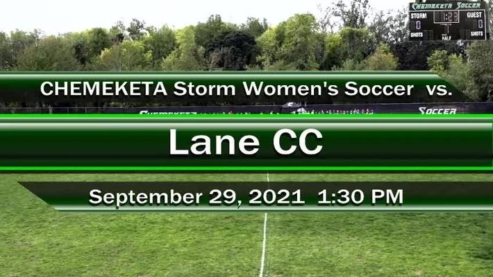 09-29-21 - Women's Storm Soccer Vs. Lane