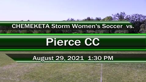 Thumbnail for entry 08-29-21 - Women's Storm Soccer Vs. Pierce