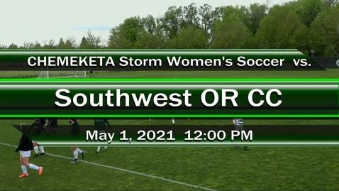 Thumbnail for entry 05-01-21 - Women's Soccer vs SWOCC