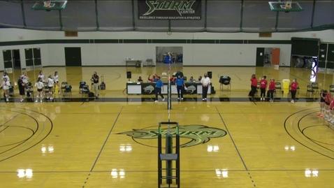 Thumbnail for entry 09-10-21 - Women's Storm Volleyball Vs. Everett