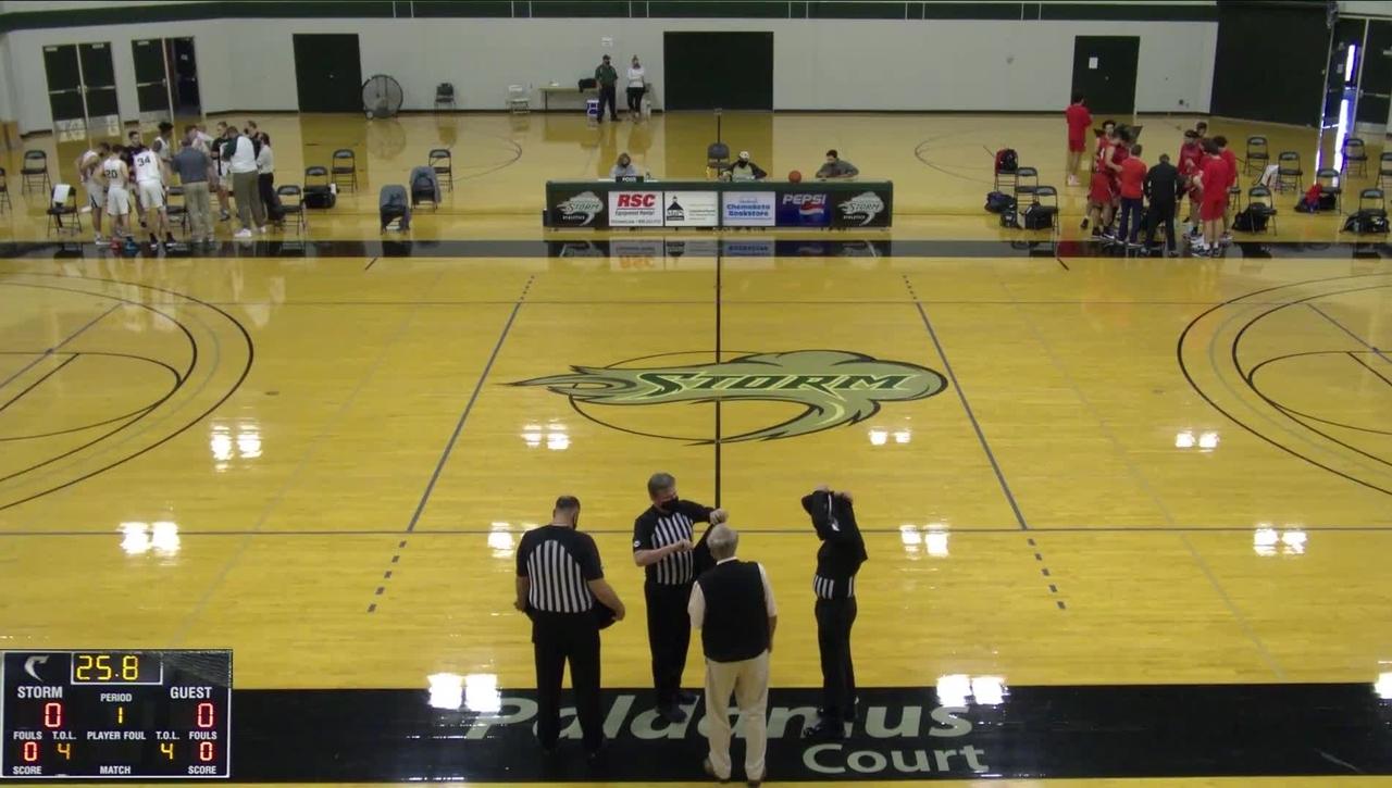 05-08-21 - Men's Basketball vs SWOCC