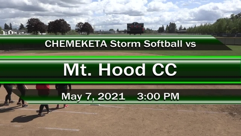 Thumbnail for entry 05-07-21 - Women's Softball vs MHCC