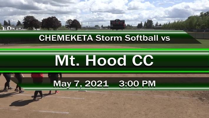 05-07-21 - Women's Softball vs MHCC
