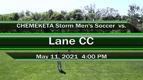 Thumbnail for entry 05-11-21 - Men's Soccer vs Lane CC