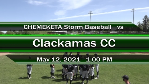 Thumbnail for entry 05-12-21 - Men's Baseball vs Clackamas CC