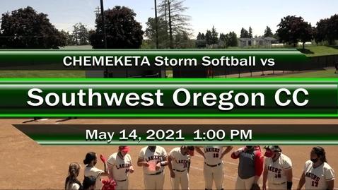 Thumbnail for entry 05-14-21 - Women's Softball vs SWOCC