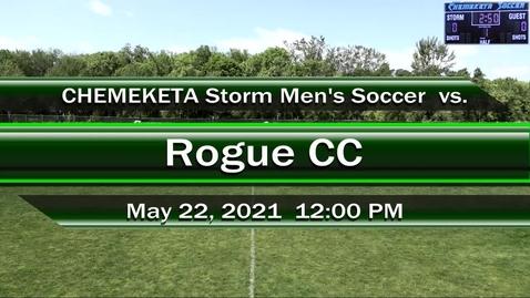 Thumbnail for entry 05-22-21 - Men's Soccer vs Rogue CC