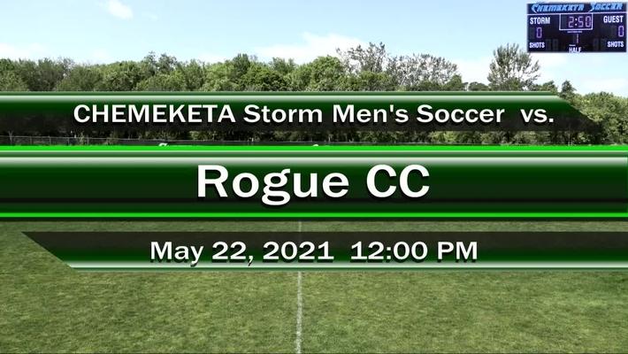 05-22-21 - Men's Soccer vs Rogue CC