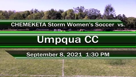 Thumbnail for entry 09.08.21 Women's Storm Soccer vs. Umpqua