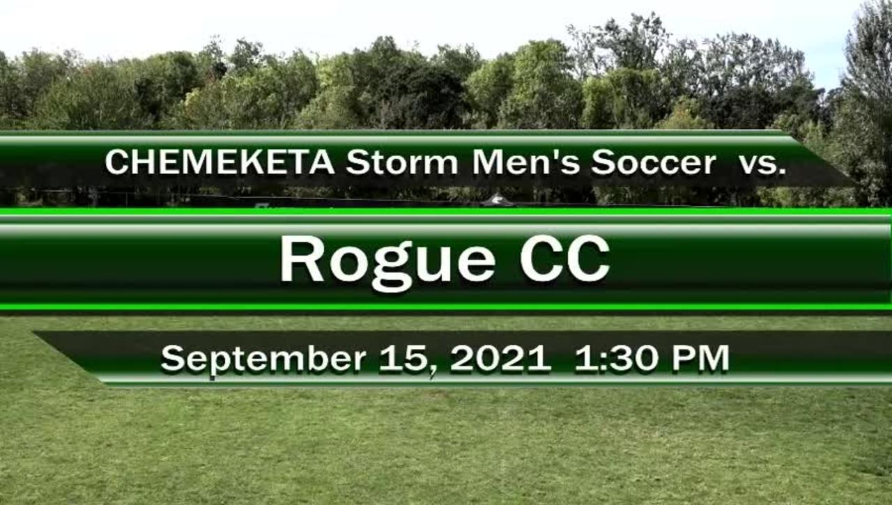 09-15-21 - Men's Storm Soccer Vs. Rogue