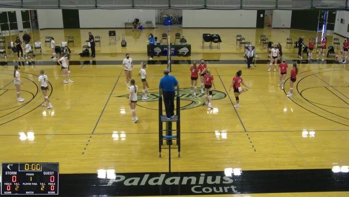 Volleyball Storm vs Clackamas 4.9.21
