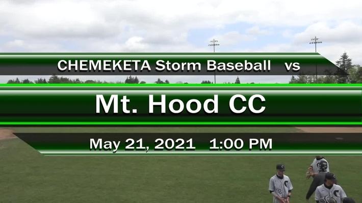 05-21-21 - Men's Baseball vs Mt Hood CC