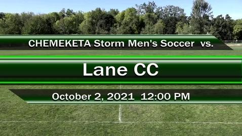 Thumbnail for entry 10-02-21 - Men's Storm Soccer Vs. Lane