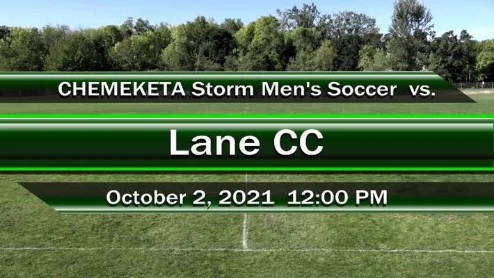 10-02-21 - Men's Storm Soccer Vs. Lane
