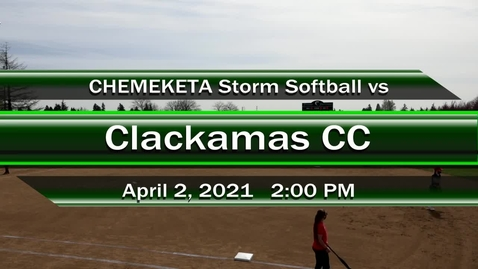 Thumbnail for entry 04-02-21 - Women's Softball