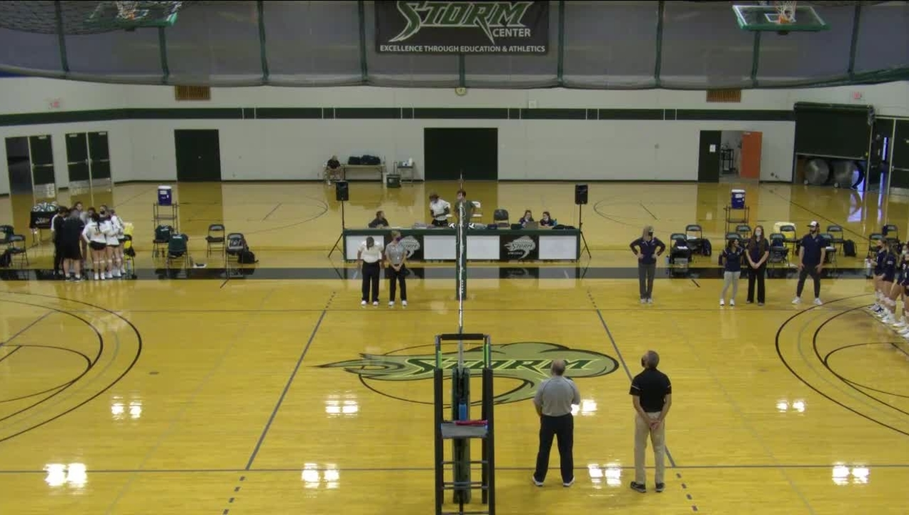 09-17-21 - Women's Storm Volleyball Vs. LBCC