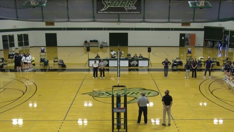 Thumbnail for entry 09-17-21 - Women's Storm Volleyball Vs. LBCC