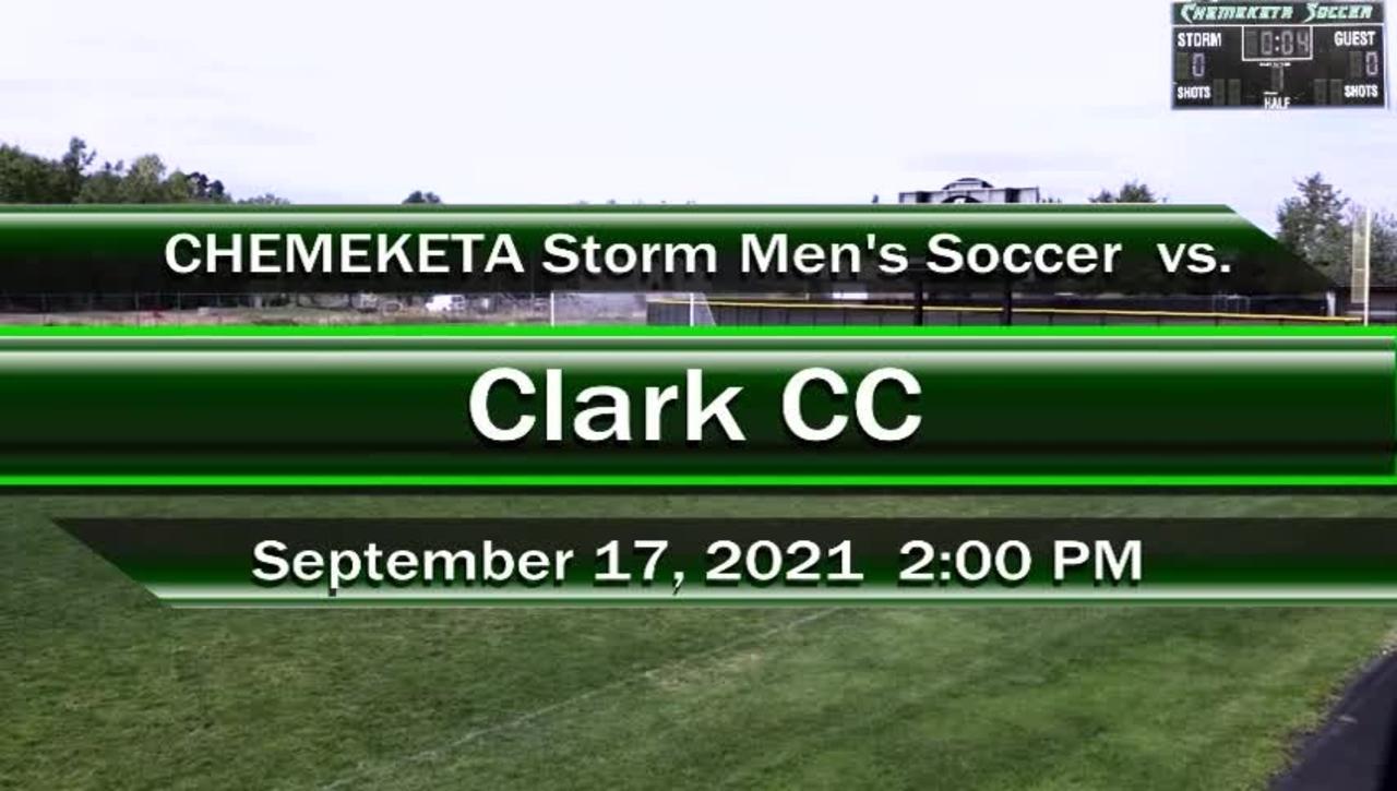 09-17-21 - Men's Storm Soccer Vs. Clark
