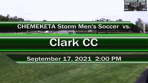 Thumbnail for entry 09-17-21 - Men's Storm Soccer Vs. Clark