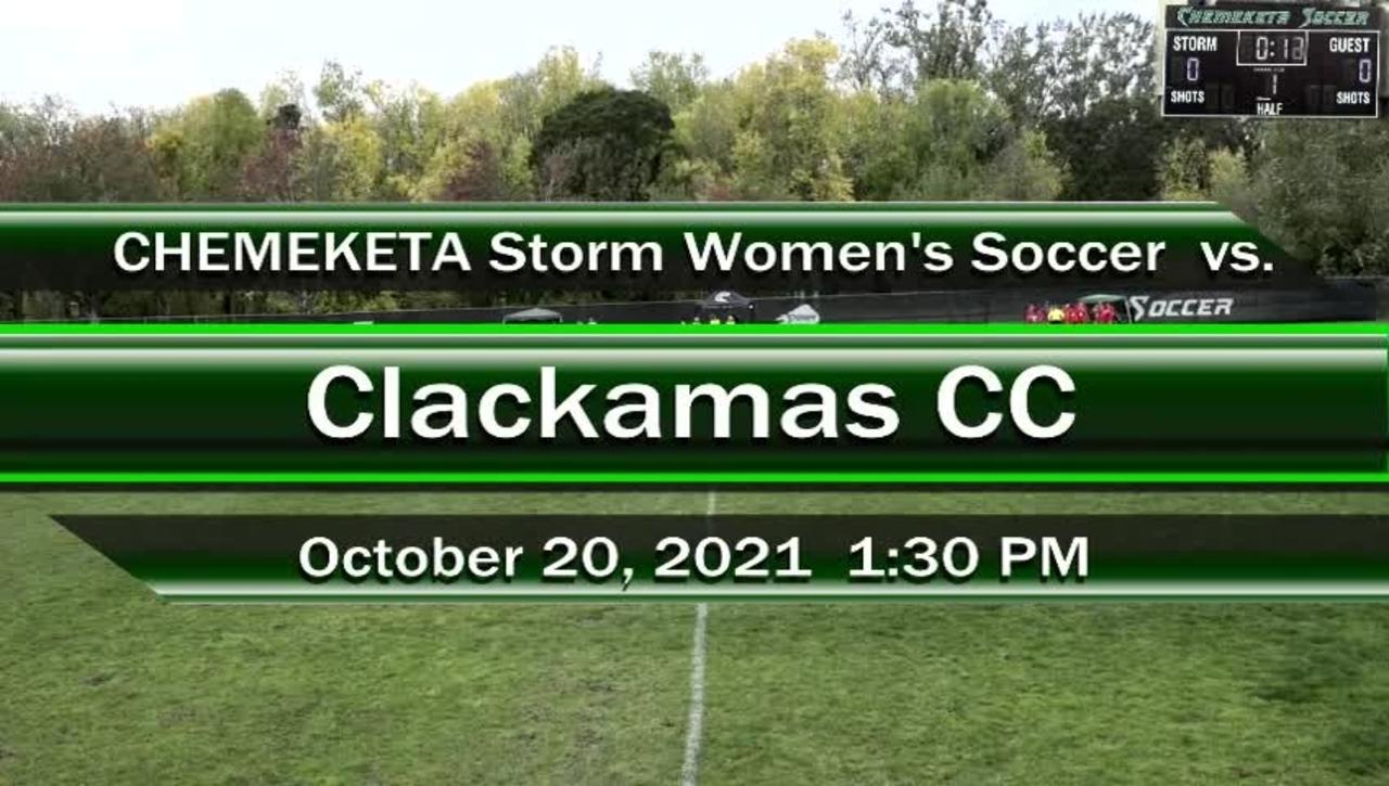 10-20-21 - Women's Storm Soccer Vs. Clackamas