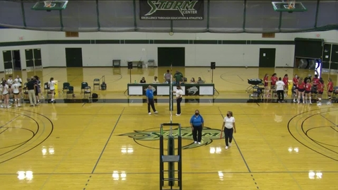 Thumbnail for entry 09.08.21 -  Women's Storm Volleyball vs. Clackamas