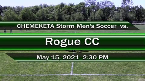 Thumbnail for entry 05-15-21   Men's Soccer vs Rogue CC