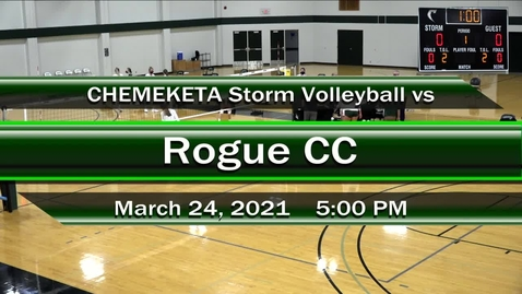 Thumbnail for entry 03-24-21 - Storm Women's Volleyball