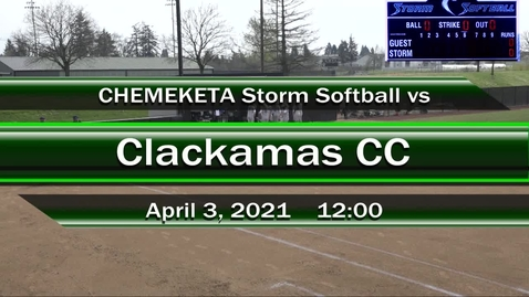Thumbnail for entry 04-03-21   Women's Softball
