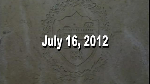 Thumbnail for entry NTHS Board of Ed Meeting 7-16-2012
