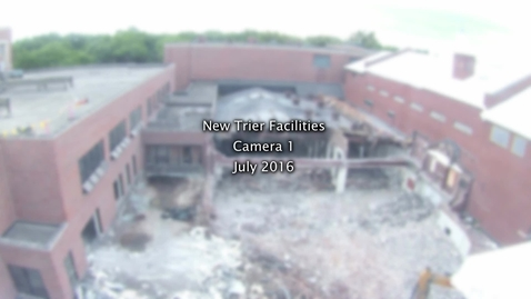 Thumbnail for entry July 2016 Facilities Camera Timelapse