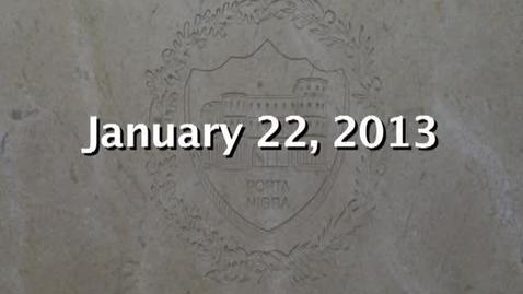 Thumbnail for entry NTHS Board of Ed Meeting 1-22-2013