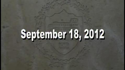 Thumbnail for entry NTHS Board of Ed Meeting 9-18-2012
